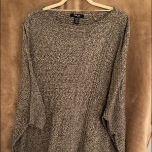 Style & Co Poncho Style Sweater